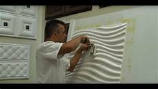how to install 3d wall panels around outlets and light switches talissa decor youtube