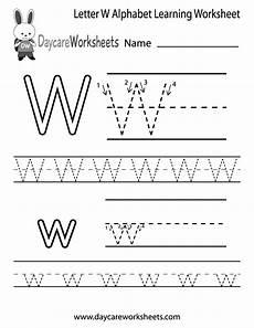 pre k worksheets letter w 24429 free letter w alphabet learning worksheet for preschool alphabet worksheets free learning