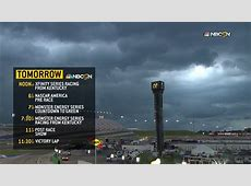 has nascar races been cancelled