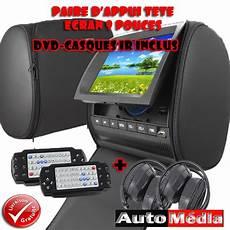 Ecrans D Appuie T 234 Te 9 Pouces Dvd X2 Divx Usb Sd Auto