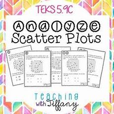 analyze scatter plots task cards first quadrant only teks 5 9c scatter plot scatter plot