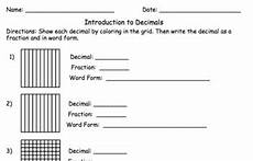 introducing decimals worksheets 7174 decimals quiz or worksheet with answer key by mrs gennaro tpt