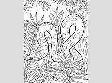 Free Coloring Pages Of Water Snake 12122,   Bestofcoloring.com