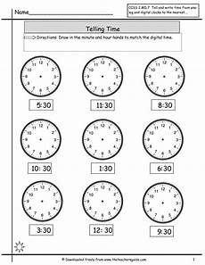 time worksheets half hour 3015 telling time to nearest half hour worksheet math telling time worksheets and math