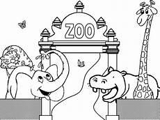 zoo malvorlagen kostenlos zum ausdrucken ausmalbilder
