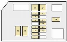 1996 toyota t100 fuse diagram toyota 4runner 1996 1997 fuse box diagram auto genius