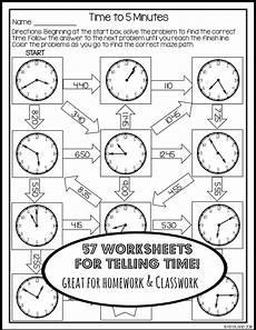 telling time worksheets no prep free math worksheets
