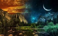 Kumpulan Gambar Pemandangan Alam Ghaib Panorama Mistis
