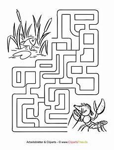 labyrinth vorlage f 252 r kinder zum ausdrucken