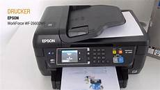 Epson Wf 2760 Test - epson workforce wf 2660dwf on test