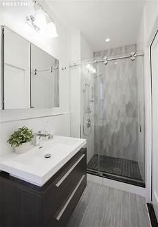 bathroom remodel ideas for small bathroom before after henry s east condo renovation condo bathroom bathroom grey floor tiles