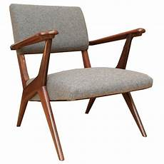 2 fauteuils vintage italiens gris 1955 design market