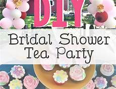 shabby chich tea party bridal wedding shower quot diy bridal