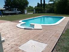 receveur piscine terrasse bois avec bac 224 int 233 gr 233 aquagr 233 ment laurent matras