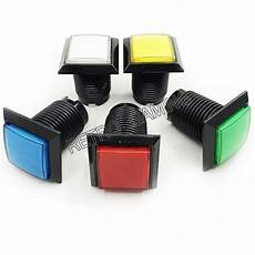 33x33mm Square Push Button Arcade by 1pcs 32mm Square Arcade Button Led Illuminated Push Button