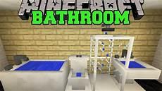 minecraft bathroom ideas minecraft bathroom toilet shower bathtub sink more mod showcase