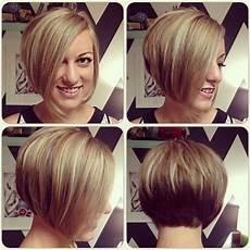 chic short asymmetrical bob haircut for hairstyles weekly