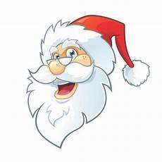 Malvorlage Weihnachtsmann Kopf Weihnachtsmann Kopf Kostenlos Vector