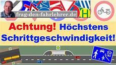 Fahrschule Theorie Lernen - schrittgeschwindigkeit fahrschule f 252 hrerschein theorie