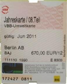 bvg jahreskarte rechnung alte bvg fahrscheine ab 1993