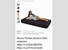 Back to Search Results for Twin Air Mattress Question Does