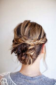 Hairstyles With Buns And Braids