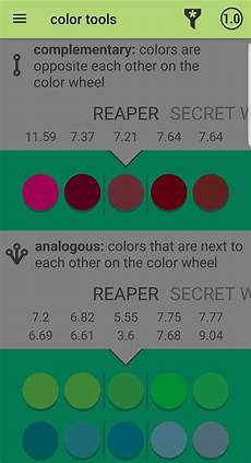 color wheel app painting tips advice reaper message board