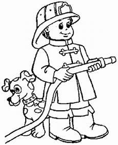 kleiner feuerwehrmann 3 ausmalbild malvorlage feuerwehr