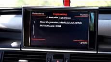 audi navi update 2017 audi mmi 3g engineering menu