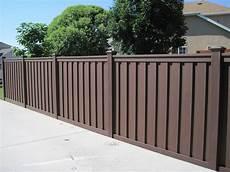 Gartenzaun Kunststoff Braun - gallery trex fencing the composite alternative to wood
