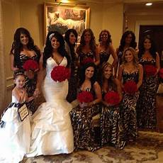 tracy and corey s jerseylicious wedding style network com animal print wedding zebra