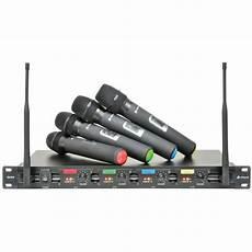 Chord Qu4 Uhf Wireless System Radio Microphone