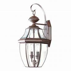 livex lighting monterey 2 light outdoor wall lantern reviews wayfair