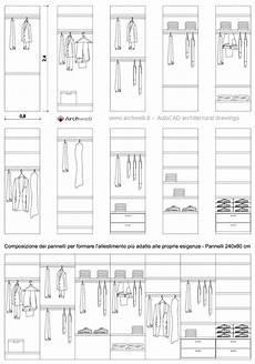 cabina armadio dimensioni moduli base per allestire una cabina armadio