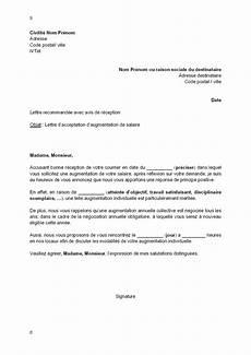 Modification Individuelle Du Contrat De Travail by Exemple Gratuit De Lettre Acceptation Par Employeur