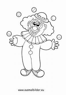 Clown Ausmalbilder Zum Ausdrucken Ausmalbild Jonglierender Clown Kostenlos Ausdrucken