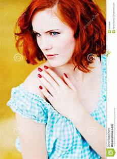 young girl with red hair stock photo image of forest beautiful young girl with red hair stock photo image of isolated caucasian 20239896