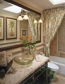 decorative bathroom ideas themed rooms playful flirty tropical rooms