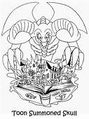 Yugioh  29 Coloring Pages & Book