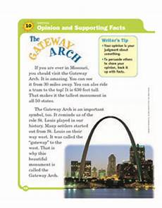arch worksheets 19288 opinion and supporting facts the gateway arch 3rd 5th grade worksheet lesson planet
