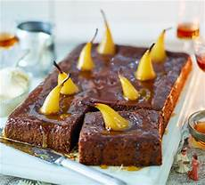 sticky toffee pear pudding good food