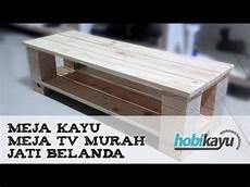 buat sendiri meja kayu meja murah youtube