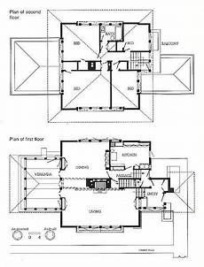 prairie house frank lloyd wright plan plan drawings g c stockman house 530 first street