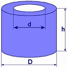 cylinder with basic area diameter and height