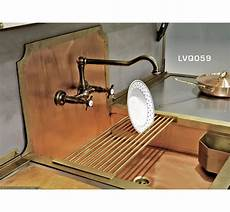 lavelli in rame italian copper sink and faucet with copper backsplash i