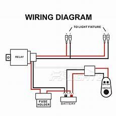 12v 40a 10ft wiring harness kit for led work fog light bar