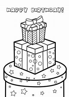 happy birthday coloring pages 54 coloring cards