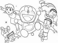 cheerful doraemon coloring book makes your toddlers