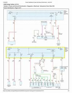 2009 dodge caliber wiring diagram 2009 dodge caliber sxt canadain car with 2 0 auto wouldnt turn with key scannerdanner