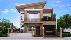 simple two storey house with simple two storey house design with terrace see